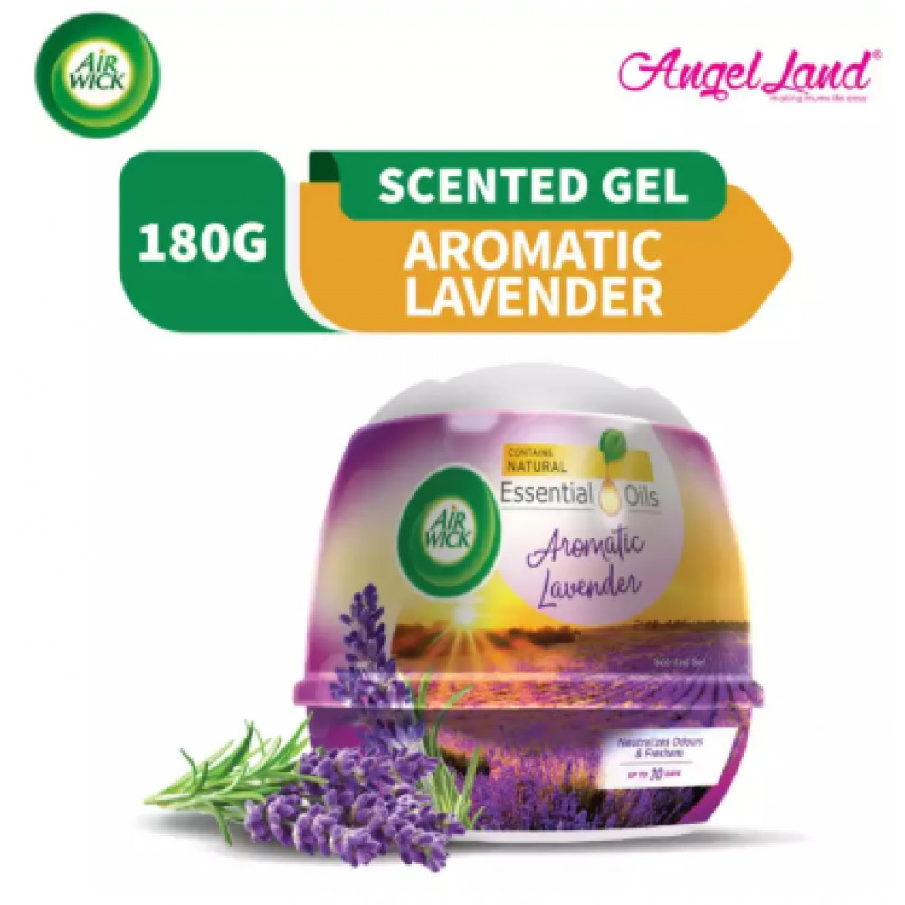 Air Wick Scented Gel Cone Aromatic Lavender 180g