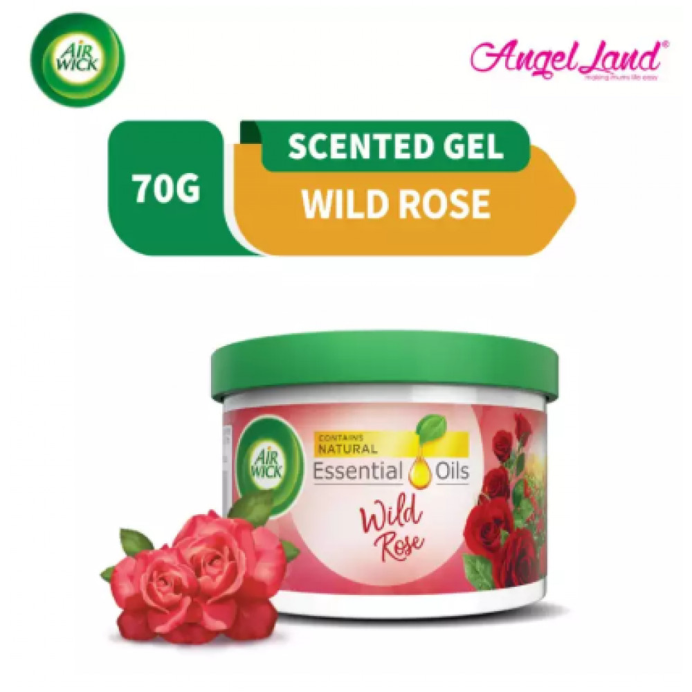 Air Wick Scented Gel Can Rose 70g