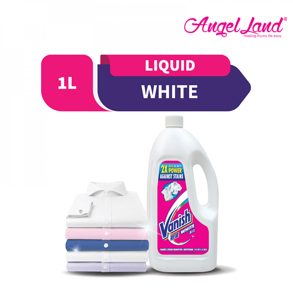 Vanish Fabric White Stain Remover Liquid 1L