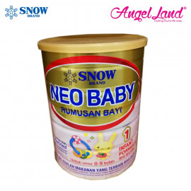 image of Snow Neo Baby Infant Formula Step 1 For 0-9 Months (900g) 2 tins