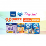 Friso Gold Young Explorer Milk Powder Step 3 (1+ years) 900g 2 tins