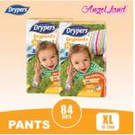 Drypers Drypantz M60/L48/XL42/XXL36 (2 pack)