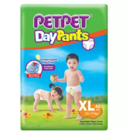 image of PETPET DayPants Diaper Jumbo Packs XL40