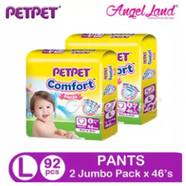image of PETPET Comfort Pants Jumbo Pack L46 (2Packs)
