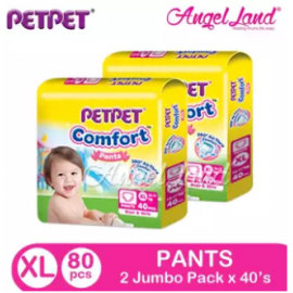 image of PETPET Comfort Pants Jumbo Pack XL40 (2Packs)