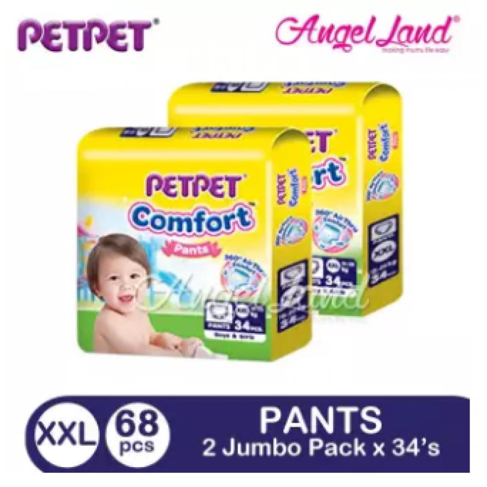 PETPET Comfort Pants Jumbo Pack XXL34 (2Packs)