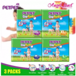 PetPet Daypants Mega pack (3Packs) +FOC Baby Poney Shirt -L66