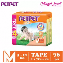 image of PETPET Tape Mega Pack M72+4 (1pack)