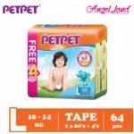 PETPET Tape Mega Pack L60+4  (1pack)