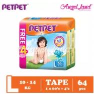 image of PETPET Tape Mega Pack L60+4  (1pack)