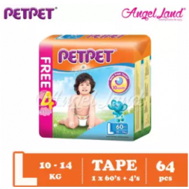 image of PETPET Tape Mega Pack L60+4  (1pack)