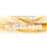 BabyLove Premium GoldPants Jumbo Pack L52 (3Packs) + Free 3x Kira Kira Top to Toe 400ML