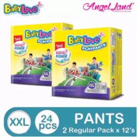 image of BabyLove PlayPants Regular XXL12 (2 packs) (Exp Date : 11/2019)