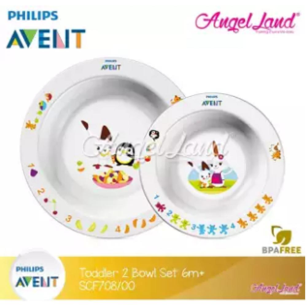 Philips Avent Toddler 2-bowl set 6m+ SCF708/00