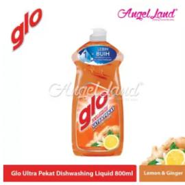 image of Glo Ultra Pekat Lemon & Ginger Dishwashing Liquid 800ml