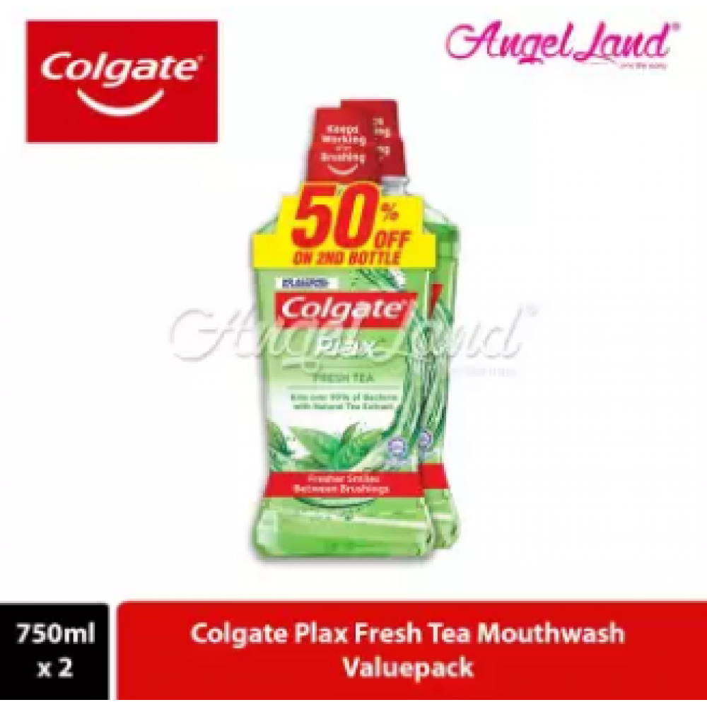 Colgate Plax Fresh Tea Mouthwash - 750ml