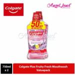 Colgate Plax Fruity Fresh Mouthwash - 750ml