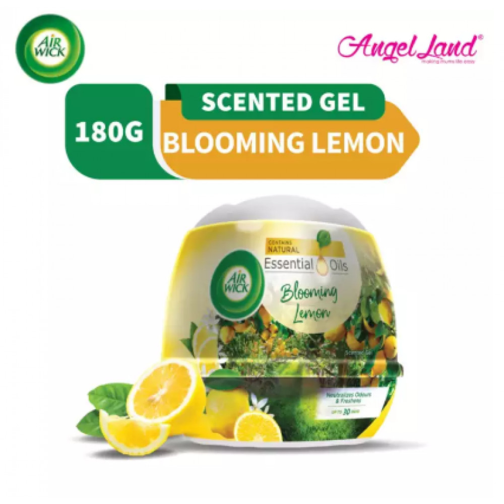 Air Wick Scented Gel Cone Blooming Lemon 180g