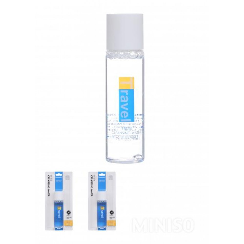 (Portable Travel Goods) Fresh Cleansing Water
