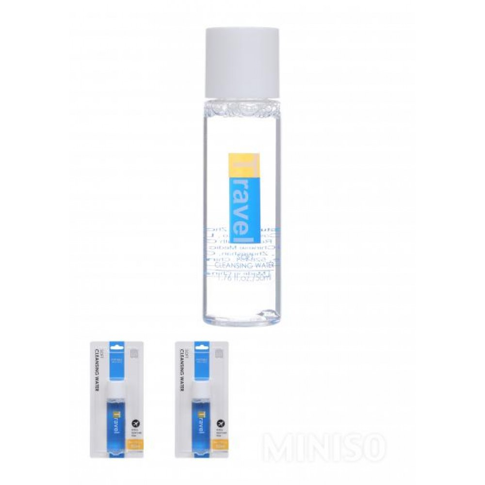 (Portable Travel Goods) Soft Cleansing Water