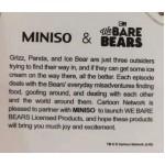 Miniso WeBareBear (Red)