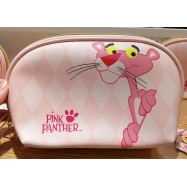 image of Pink Panter Diamond Cosmestic Shell Bag
