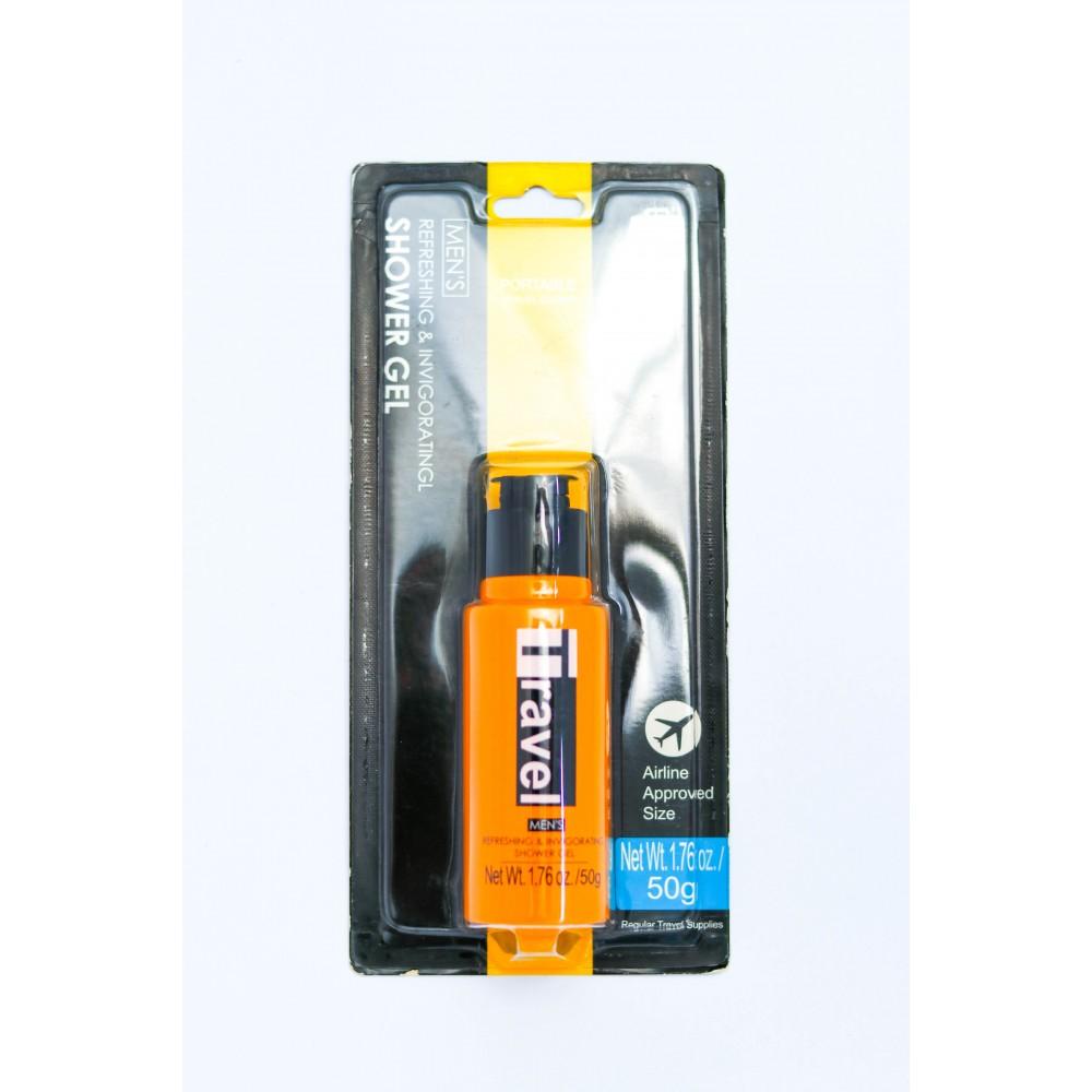(Portable Travel Goods) Men's Refreshing & Invigorating Shower Gel