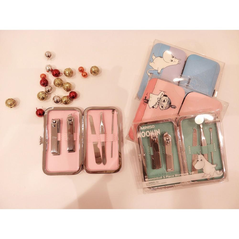 MOOMIN - 5 pieces Manicure Set
