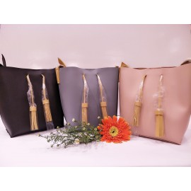 image of Bucket Bag With Tassels