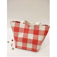 image of Check Lunch Box Bag