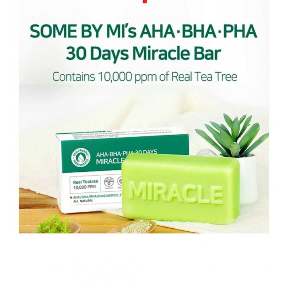 SOME BY MI AHA PHA 30DAYS MIRACLE CLEANSING BAR