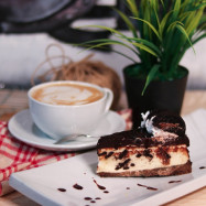 image of Cake and Coffee Set for 1 person