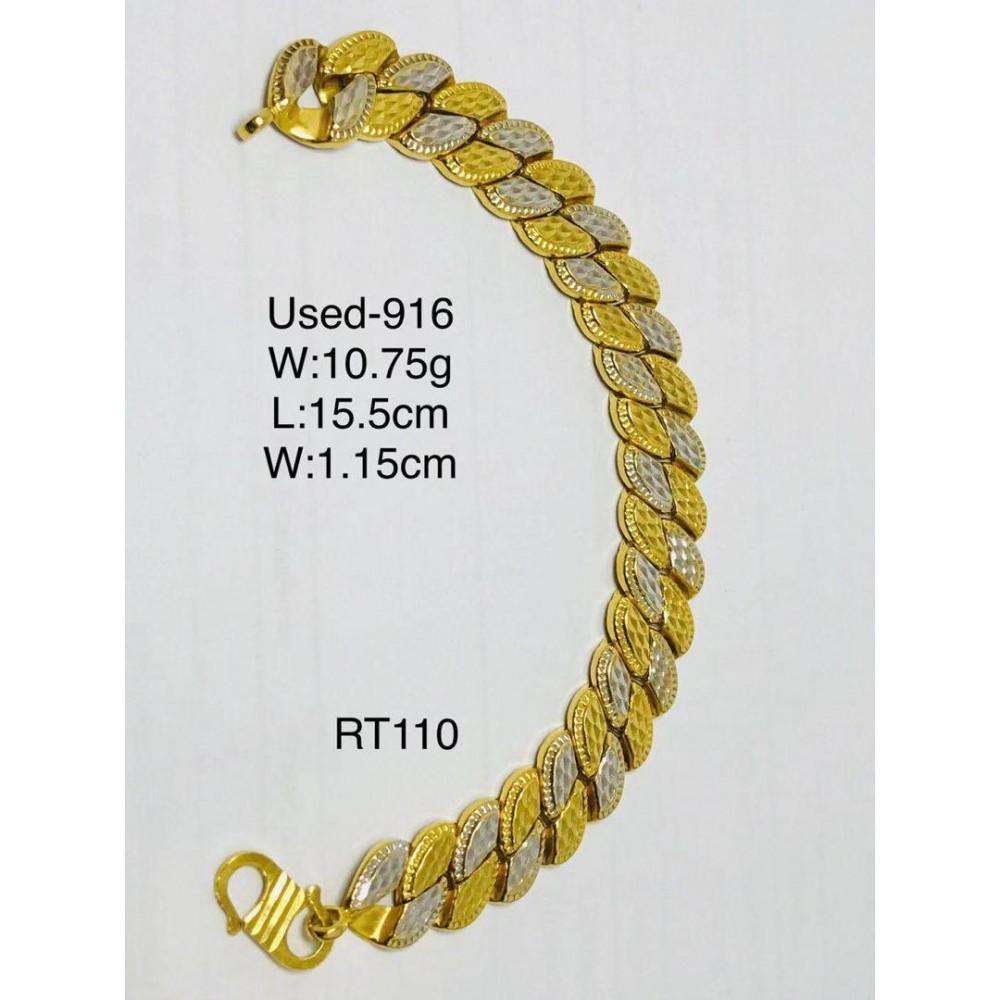 Pre-owned bracelet 916 gold