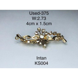 image of Pre-owned hair accessories 375 gold