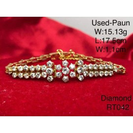 image of Pre-owned bracelet Paun gold