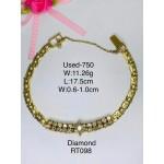 Pre-owned bracelet 750 gold