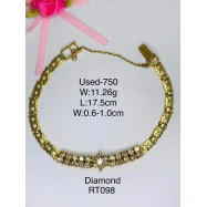 image of Pre-owned bracelet 750 gold