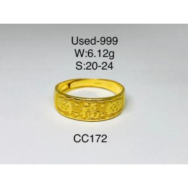 image of Pre-owned ring 999 gold