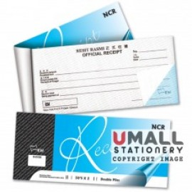 image of UNI RECEIPT BOOK 50's x 2ply