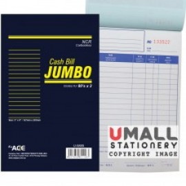 image of UNI JUMBO CASH BILL NCR 2 PLY X 80'S (U-5885) 5 IN 1