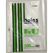image of UMOE 11 HOLES SHEETS PROTECTOR 100'S (SP11H4100)