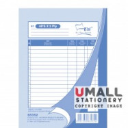 image of UNI BILL BOOK 2 PLY (S5352) 10 IN 1