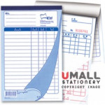 UNI BILL BOOK 2 PLY X 40'S (SBB-5802) 10 IN 1