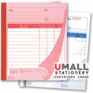 image of UNI BILL BOOK 3 PLY X 25'S (SBB-6703) 10 IN 1