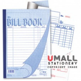 image of UNI BILL BOOK 2 PLY X 40'S (SBB7102) 10 IN 1