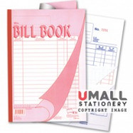 image of UNI BILL BOOK 3 PLY X 25'S (SBB7103) 10 IN 1
