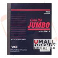 image of UNI JUMBO NCR CASH BILL 50'S  X 3PLY (U-6786)