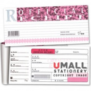 image of UNI OFFICIAL RECEIPT 50'S (S1010) 10 IN 1