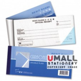 image of UNI OFFICIAL RECEIPT NCR 2 PLY (SCR-6060) 10 IN 1