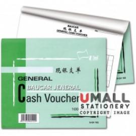 image of UNI GENERAL CASH VOUCHER 100'S (S-GV102) 10 IN 1